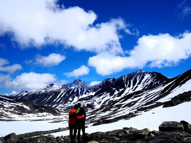 Norsko, Jotunheimen, národní park, hory