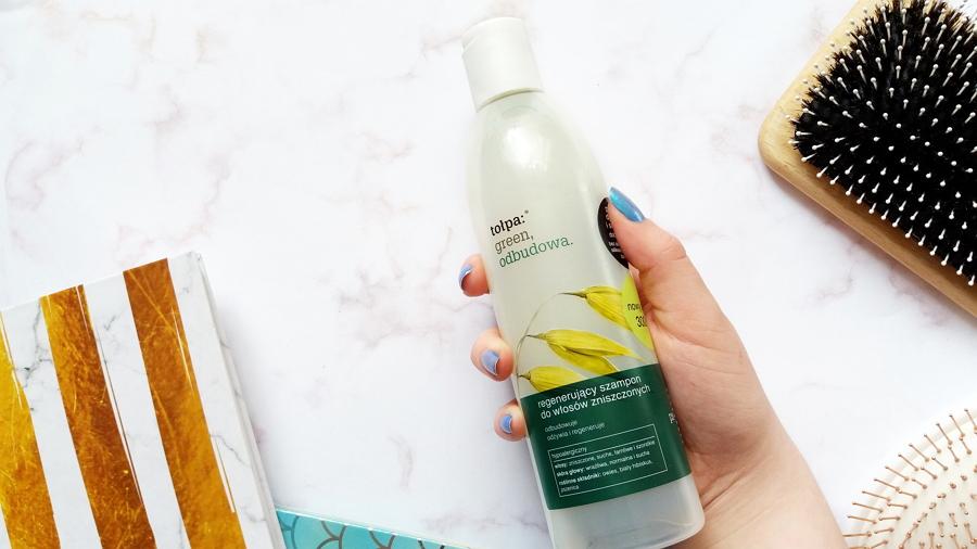 Ulubione kosmetyki || Tołpa • Green Odbudowa, Regenerujący szampon do włosów zniszczonych