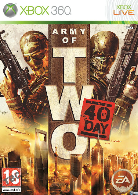 Army of Two: The 40th Day - Xbox 360 - Portada