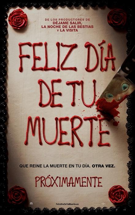 Happy Death Day (Feliz Día de tu Muerte) (2017) 720p y 1080p WEBRip mkv Dual Audio AC3 5.1 ch