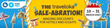 Traveloka Sale-abration Menyajikan Tawaran Menarik Untuk Percutian Anda