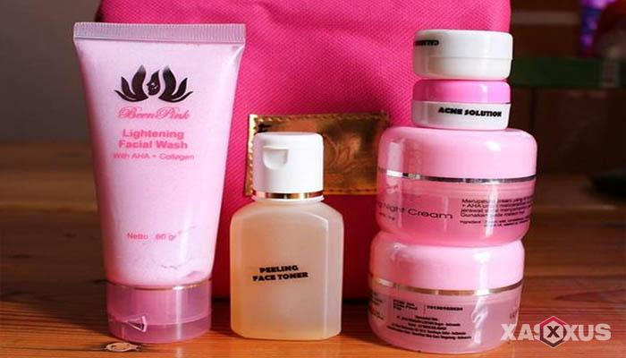 Cream pemutih wajah yang aman dan bagus - Cream Been Pink