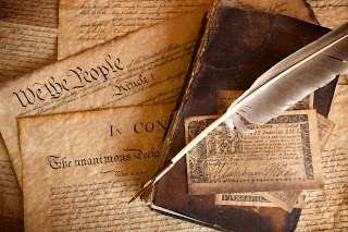 Antique copy of Constitution
