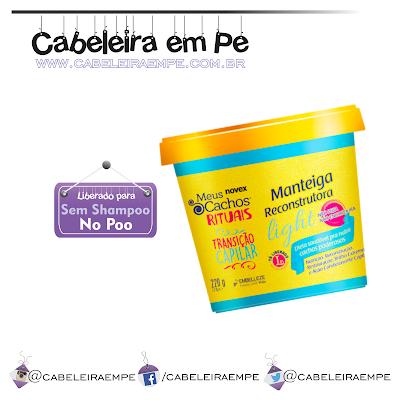 Manteiga Reconstrutora Light - Novex Embelleze Liberada para No Poo