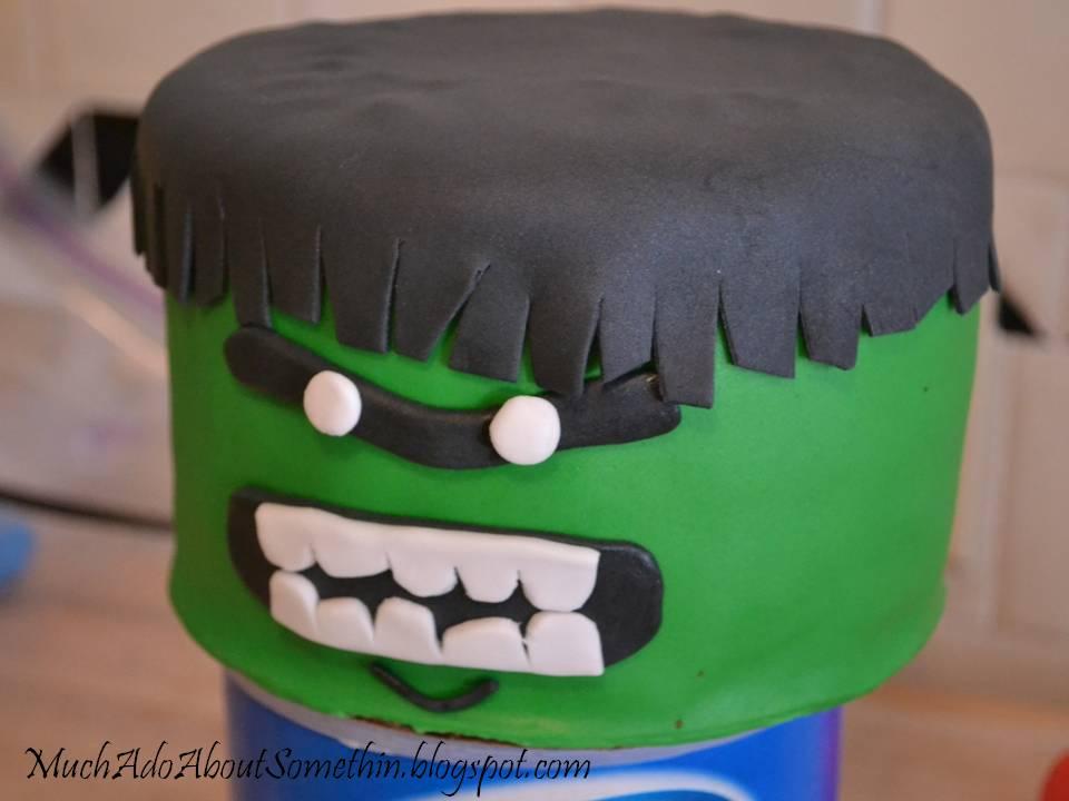 Much Ado About Somethin Avengers Birthday Cake