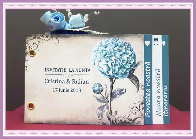 Invitatii Nunta Poveste de Nunta 6