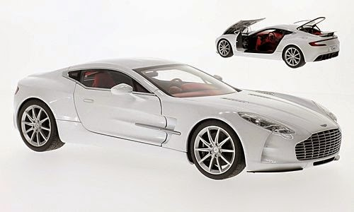Aston Martin One-77 Metalic White 2009