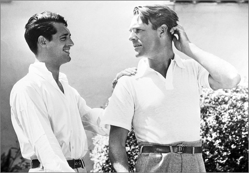 Image result for cary grant and randolph scott 1930s