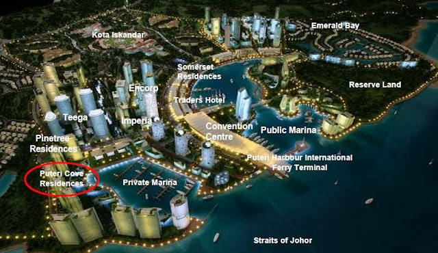 Puteri Harbour Site Plan