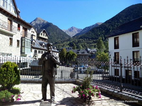 Estatua del Gigante de Sallent (Sallent de Gállego, Huesca)