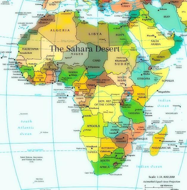 MENA and Sub Saharan Africa
