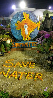 JAMSHEDPUR FLOWER SHOW SAVE WATER PHOTO