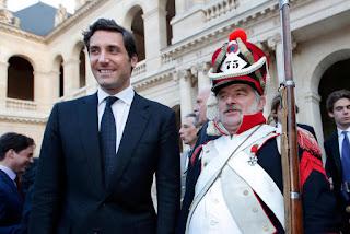 زفاف حفيد نابليون بونابرت في حفل فخم وأسطوري في باريس