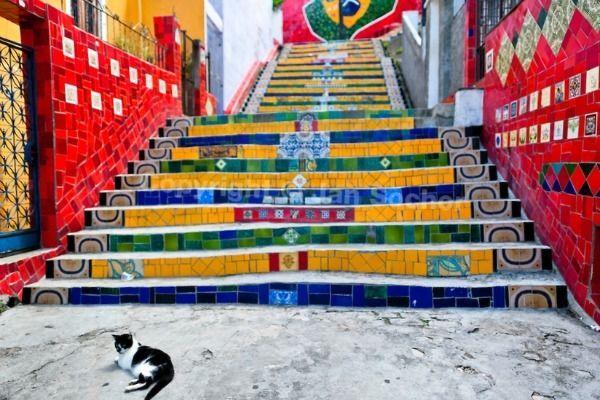 rio de janeiro selaron steps
