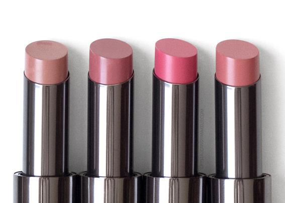 Lise Watier Rouge Intense Suprême Lipsticks Review Clara Charlize Zoe Maya