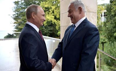Vladimir Putin met in Sochi with Prime Minister of Israel Benjamin Netanyahu.