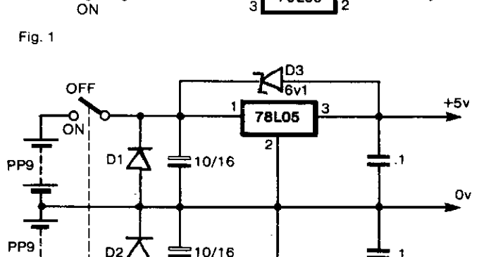 Wiring & diagram Info: Bipolar Power supply for Battery