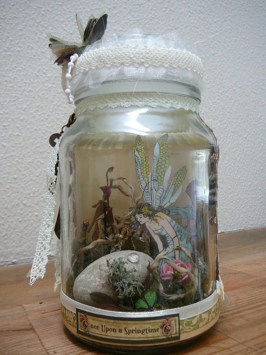 Workshop For Miracles Capture Fairy In A Jar