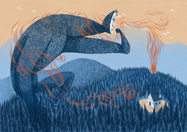 """How Quest sought the Truth"" ilustraciones por Anja Susanj 3"