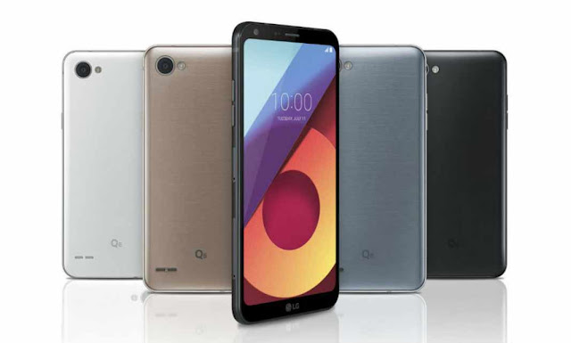 LG Q6+ LG Q6 and LG Q6a
