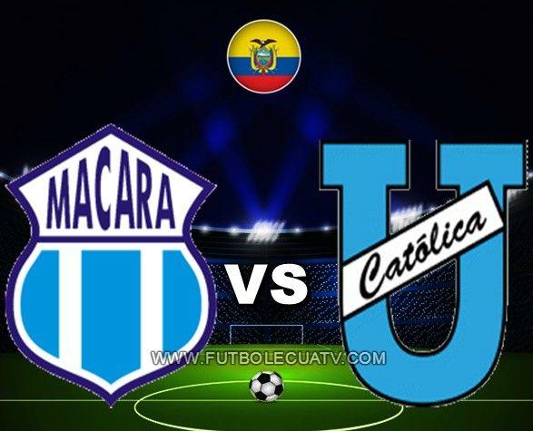 Macará recibe a la U.  Católica en vivo desde las 12:00 horario local a efectuarse en el estadio Bellavista de Ambato aperturando la fecha diecinueve por el campeonato doméstico, siendo el árbitro principal Guillermo Guerrero Alcivar con emisión de los canales autorizados DirecTV Sports, CNT y GolTV.