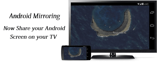 google chromecast features - Android Mirroring