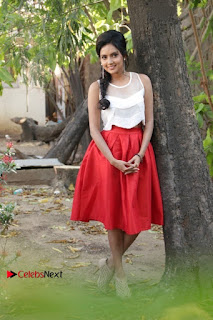 Actress Mahima Nambiar Latest Stills in White Top and Red Skirt at Kuttram 23 Movie Press Meet  0044.jpg