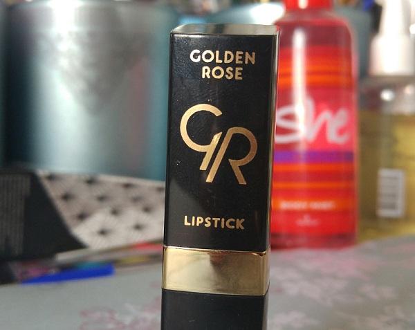 Golden Rose Lipstick - Rouge à lèvres hydratant 159 Marron Doré | Cookie's Makeup