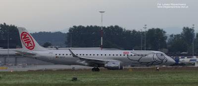 Embraer ERJ-190LR (ERJ-190-100 LR) linii Air Berlin, D-ARJF