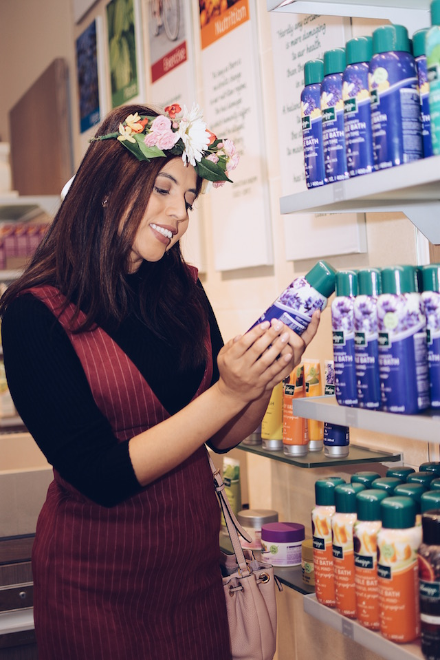 Kneipp Shop Day in DC by Mari Estilo