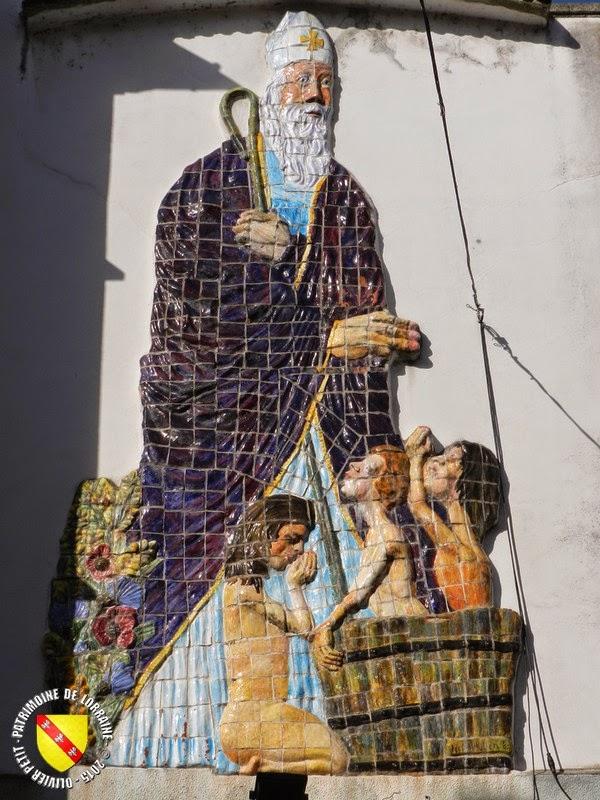Saint-Nicolas (XXe siècle) - Mosaïque colorée - Épinal (88)