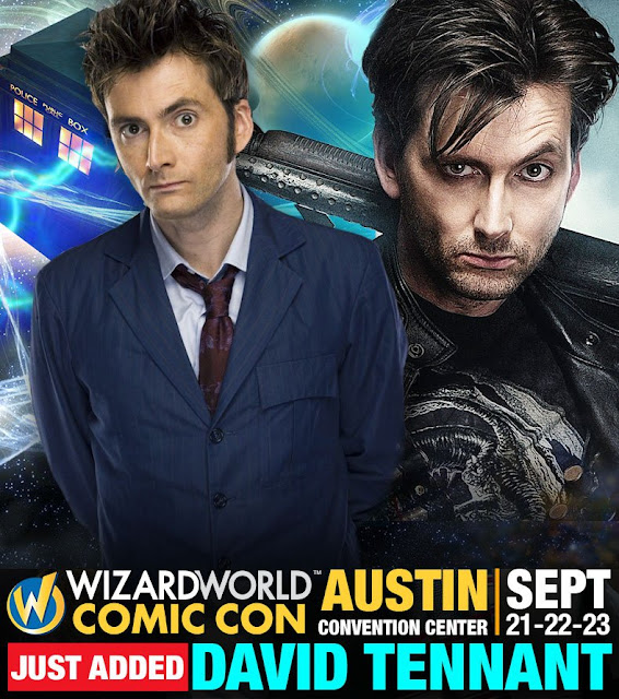 David Tennant - Wizard World Comic Con Austin fan convention