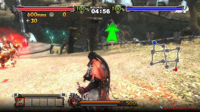 Guilty Gear 2 Overture Gameplay Screenshot 3