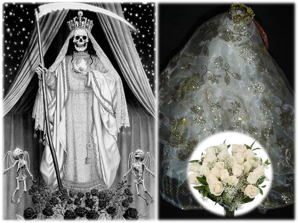 Que significa la muerte vestida de novia