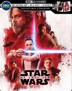 Star Wars: The Last Jedi Steelbook