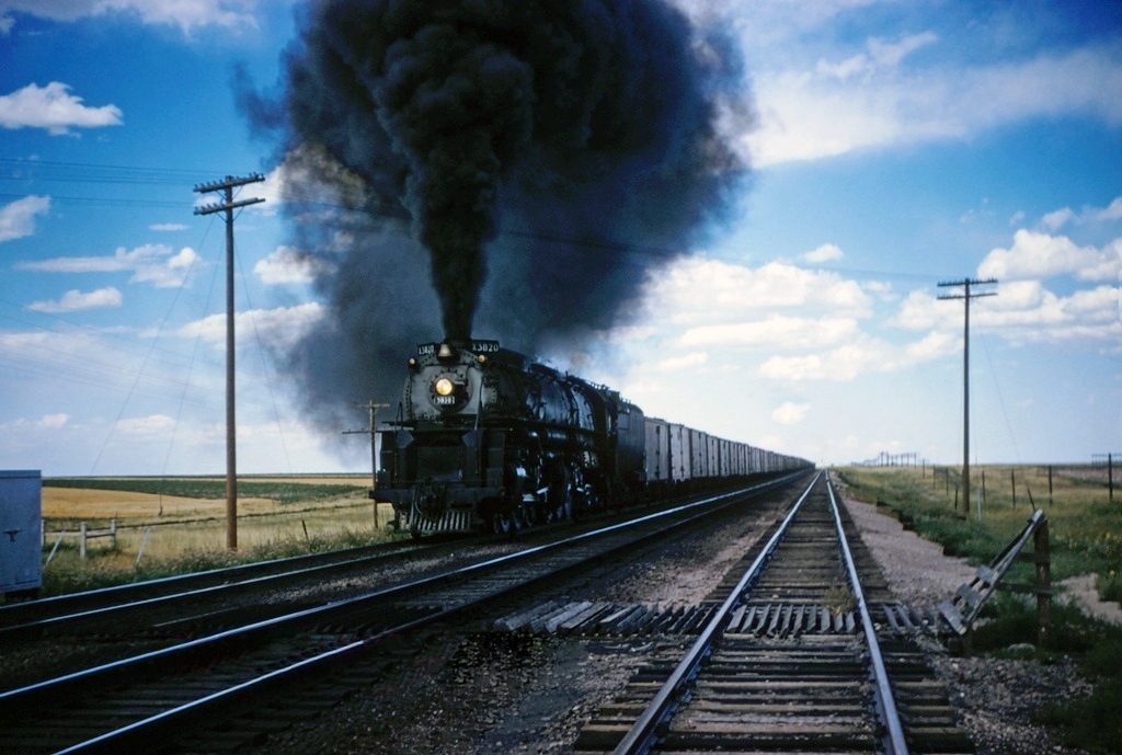 transpress nz: Union Pacific 4-6-6-4 on Archer Hill