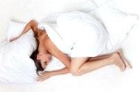 Donna più magra perché dorme bene