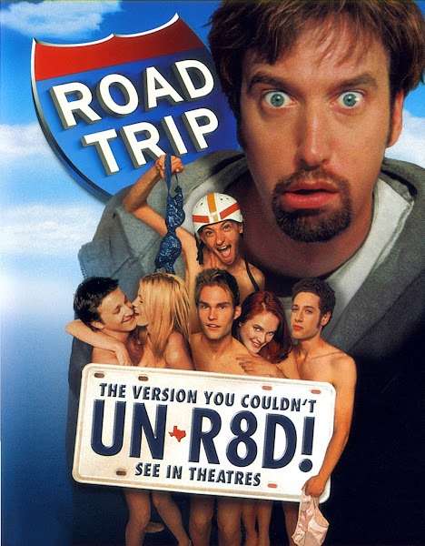 Poster of (18+) Road Trip 2000 UnRated Dual Audio [Hindi-English] 720p BluRay ESubs Download