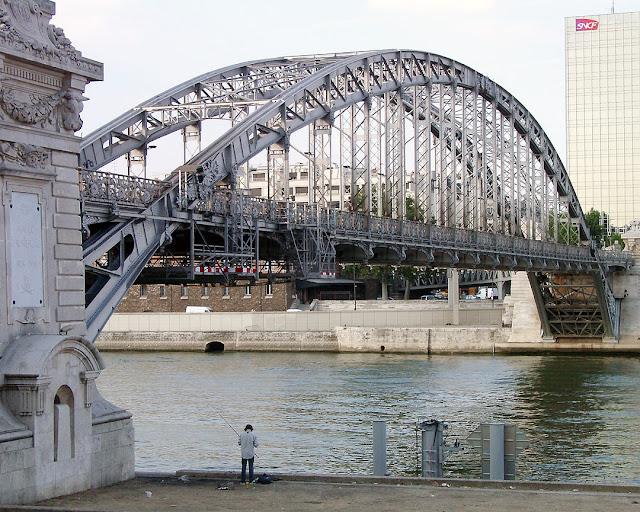 Viaduc d'Austerlitz, Austerlitz Viaduct, Paris