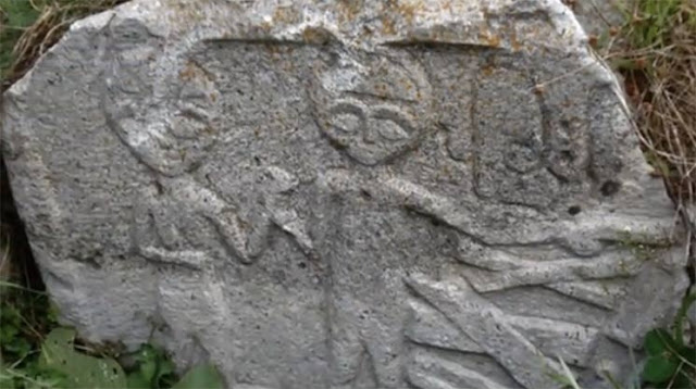 The Same Ancient Aliens Carved In Stone Throughout The Ancient World 👽👾✨⭐👽