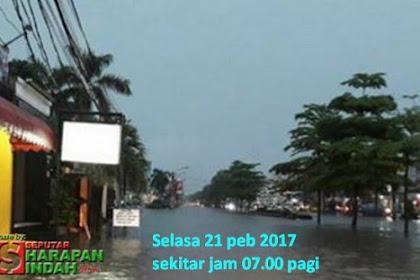 Beberapa Titik Banjir 21 Pebruari 2017