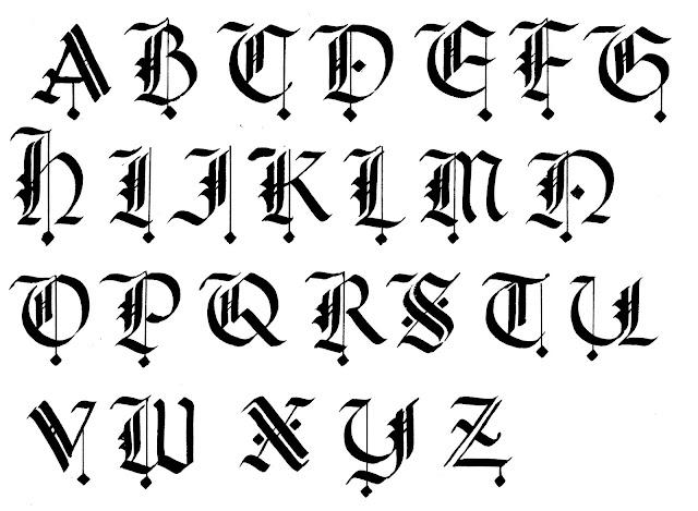 Margaret Shepherd: Calligraphy Blog: 216 Gothic plus