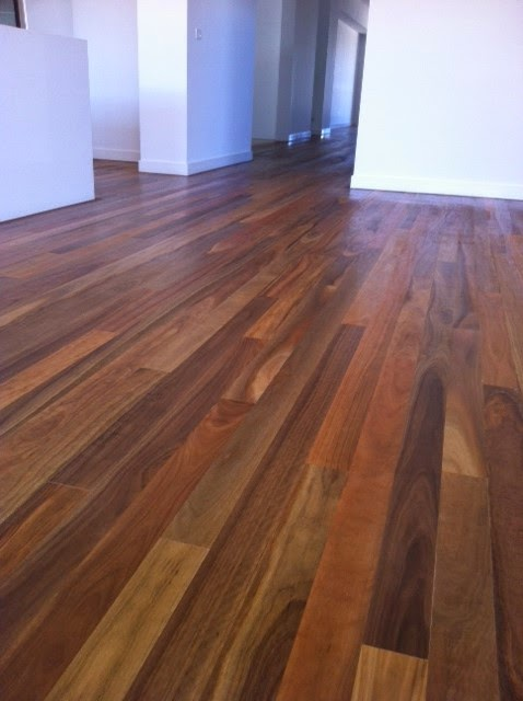 Building Nelson!: Queensland Spotted Gum Hardwood Floor