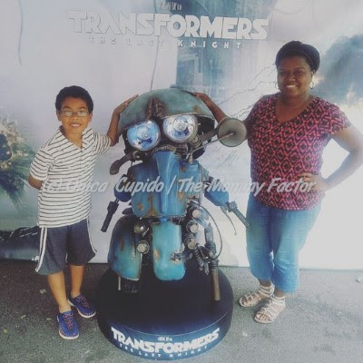 Meeting Sqweeks from Transformers The Last Knight