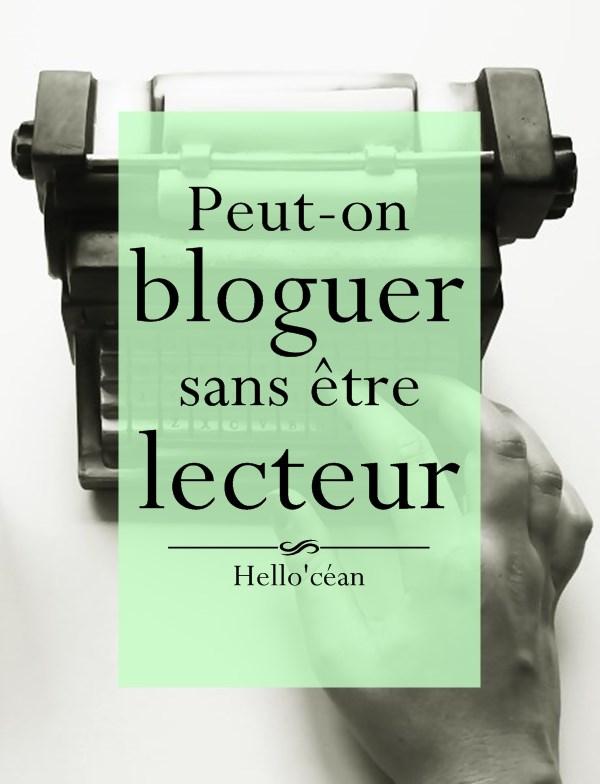 Peut-on bloguer sans être aussi lecteur ?