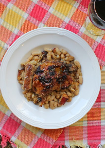 Food Lust People Love: This classic cassoulet is a hearty, rich bowl of white beans with bacon, sausage and duck confit, the perfect dish on a cold winter's day.