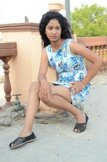 Actress Priyankha Stills in Floral Short Dress at Golmal Gullu Movie Pressmeet 0318.JPG