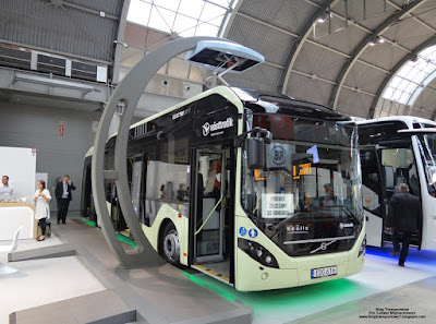 Volvo 7900 Electric Hybrid, TransExpo 2016