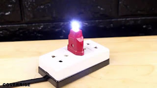 membuat sendiri lampu tidur di rumah menggunakan led sederhana