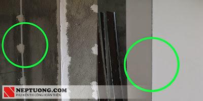 hiệu quả khi sử dụng nẹp bả matit cho vách thạch cao SW 2020